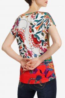 Desigual barevné tričko TS Leonor - XS