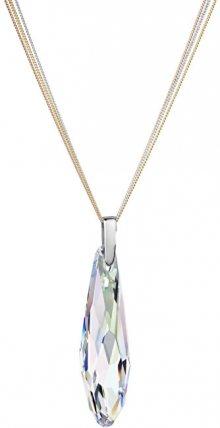Preciosa Náhrdelník Chiqué krystal AB 6804 42 (řetízek, přívěsek)