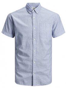 Jack&Jones Pánská košile Esummer Shirt S/S Sts Infinity S