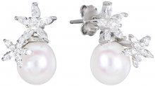 JwL Luxury Pearls Stříbrné náušnice s pravými perlami JL0452