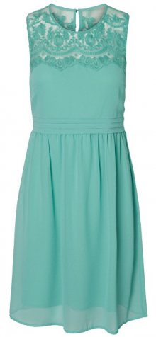 Vero Moda Dámské šaty Vanessa SL Short Dress Color Wasabi XS