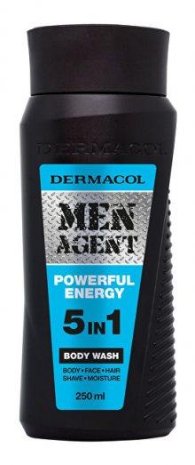 Dermacol Sprchový gel pro muže 5v1 Powerful Energy Men Agent (Body Wash) 250 ml