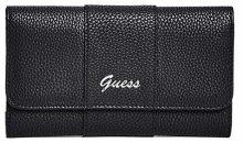 Guess Dámská peněženka Factory Women`s Desmond Slim Wallet Clutch Black