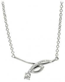 Silver Cat Stříbrný náhrdelník se zirkony SC234