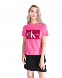 Monogram Triko Calvin Klein | Růžová | Dámské | L