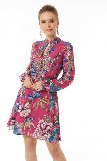 Jimmy Sanders Dámské šaty 19W DRW42060 PURPLE\n\n