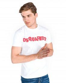 Triko DSQUARED2 | Bílá | Pánské | M