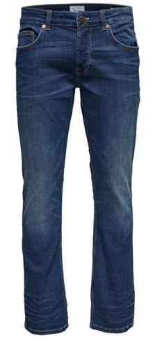 ONLY&SONS Pánské džíny Weave Dark Denim PK 0905 32\
