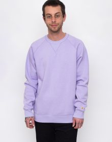 Carhartt WIP Chase Sweat Soft Lavender/Gold L