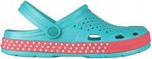 Coqui Dámské pantofle Lindo Turquoise/New Rouge 6415-406-1942 38