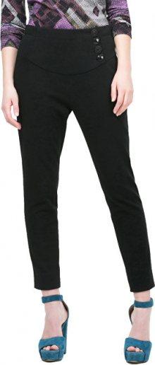 Desigual Dámské kalhoty Silvana Negro 67P2LA4 2000 34
