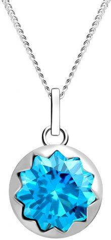 Preciosa Dámský stříbrný náhrdelník Vela 5252 67 (řetízek, přívěsek)
