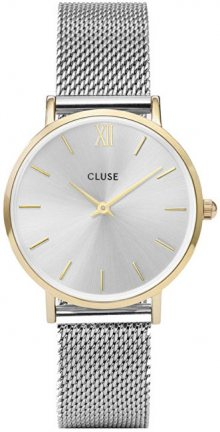 Cluse Minuit Mesh Gold/Silver CL30024
