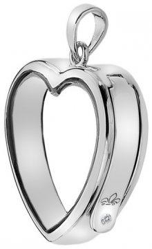 Hot Diamonds Přívěsek na elementy Anais Srdce s diamantem EX003