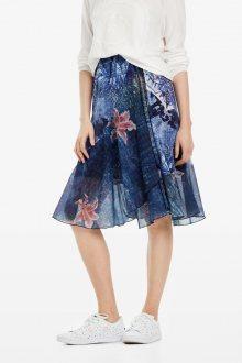 Desigual modrá sukně Fal Nala - S