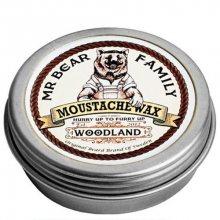 Mr. Bear Vosk na knír Woodland (Moustache Wax) 30 g
