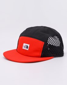 The North Face Class V Five Panel Fiery Red/ TNF Black