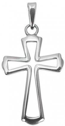 Brilio Silver Stříbrný přívěsek křížek 441 001 01785 04 - 1,59 g