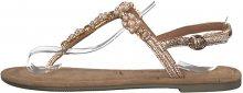 Tamaris Dámské sandále 1-1-28152-22-952 Rose Metallic 36