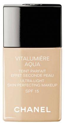 Chanel Rozjasňující hydratační make-up Vitalumiere Aqua SPF 15 (Ultra-Light Skin Perfecting Sunscreen Makeup) 30 ml 22