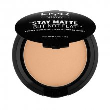NYX Pudrový make-up Stay Matte But Not Flat (Powder Foundation) 7,5 g 08 Golden Beige