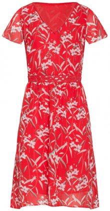 Smashed Lemon Dámské šaty 19317 Red/White S