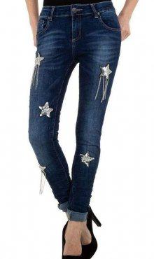 Dámské moderní jeansy Mozzaar