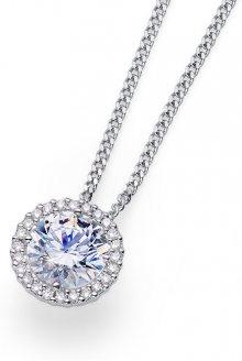 Oliver Weber Stříbrný náhrdelník Triumph 61138 WHI (řetízek, přívěsek)
