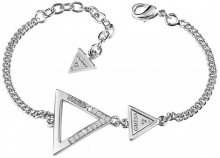 Guess Náramek s trojúhelníky UBB83063-S