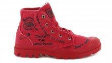 Palladium  Boots Hi PR C Flame Scarlet W červené 96267-690-M