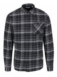 Černo-šedá károvaná košile Shine Original