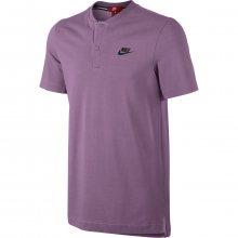 Nike M Nsw Gsp Polo Ss Knt fialová M