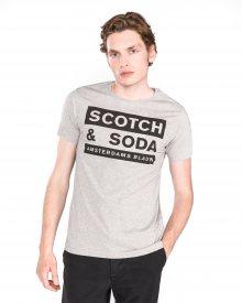 Triko Scotch & Soda | Šedá | Pánské | L