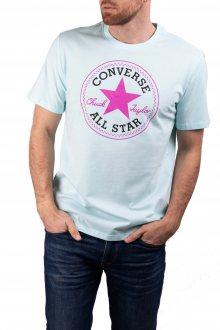 Converse mentolové pánské tričko Chuck Patch s logem - S
