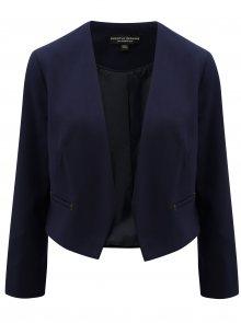 Tmavě modré krátké sako s detaily ve zlaté barvě  Dorothy Perkins