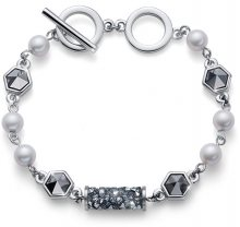 Oliver Weber Luxusní náramek s krystaly Tuby 32229