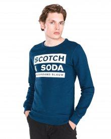 Mikina Scotch & Soda | Modrá | Pánské | L