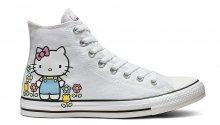 Converse Chuck Taylor x Hello Kitty pack bílé 164629C