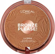 L´Oréal Paris Bronzový pudr na obličej a tělo La Terra (Bronzer) 18 g 03 Amalfi Medio