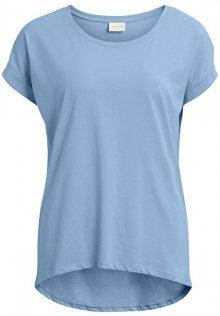 Vila Dámské triko Vidreamers Pure T-shirt-Fav Powder Blue S