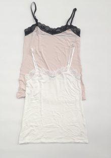 Dámská košilka Cotonella GD258 L Krémová
