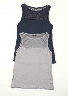 Dámská košilka Cotonella GD256 L Tm. modrá