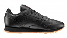 Reebok Classic Leather Intense Black Gum černé 49804