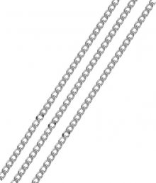 Brilio Silver Stříbrný řetízek Pancer 45 cm 471 086 00027 04