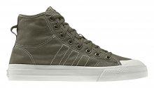 adidas Nizza Hi Rf Raw Khaki zelené BD7481