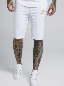 Kraťasy White Siksilk Zonal Sport Style bílá L