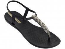 Ipanema Dámské sandále Cham VI Sand Fem 82517-21976 Black/Gold 35-36