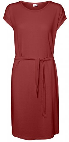 Vero Moda Dámské šaty Ava Plain Ss Knee Dress Vma Cowhide XS