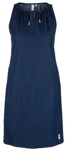 Q/S designed by Dámské šaty 41.905.82.2589.59Z2 Blue Denim 32