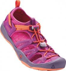 KEEN Dětské sandále Moxie Sandal Purple Wine/Nasturtium JUNIOR 32-33